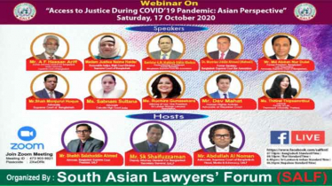 Webinar held on 'Access to Justice during Covid-19'