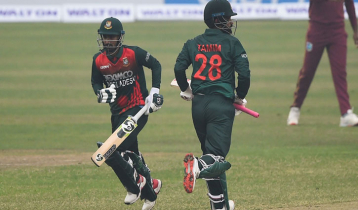 Bangladesh take 1-0 lead against West Indies