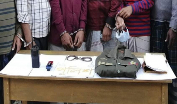 10 fake DB members held in Dhaka