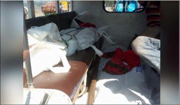 Train-bus collision kills two in Gazipur