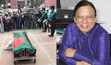 Actor Mujibur Rahman Dilu laid to eternal rest