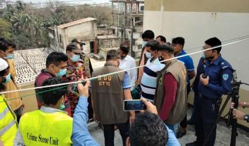 Explosion at Feni building: Expert team visits spot
