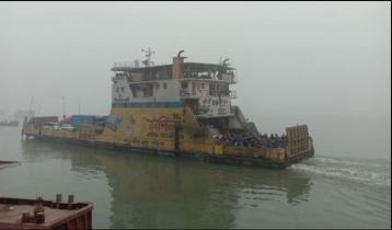 Paturia-Daulatdia ferry service resumes after 9 hrs