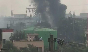 Fire at Sylhet's Kumargaon Power Station