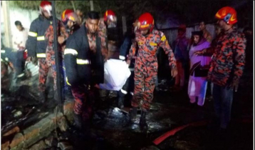 Four including two disabled children killed in Narayanganj fire