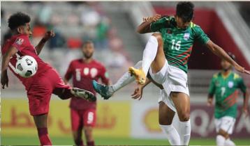 Qatar defeats Bangladesh 5-0
