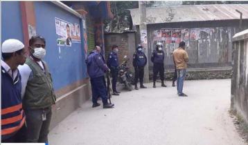 Four 'militants' surrender in Sirajganj