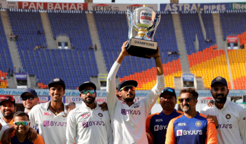 India go on top of ICC Test ranking