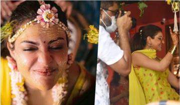 Kajal Aggarwal's wedding ceremony today