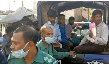 50 held for not wearing masks in Khulna