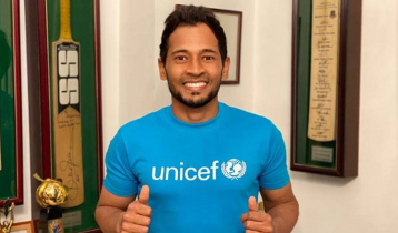 UNICEF named Mushfiqur as Nat`l Ambassador