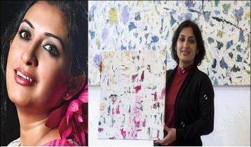Bipasha Hayat`s painting exhibition starts in New York