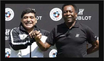 We`ll play football together in the sky: Pele