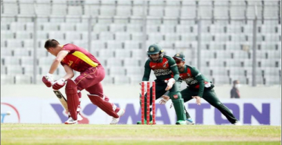 West Indies lose nine wickets