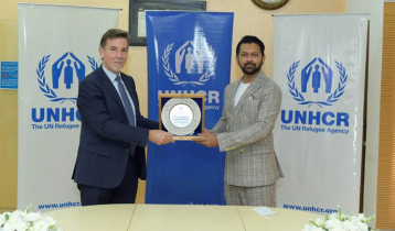 Tahsan made Goodwill Ambassador for UNHCR