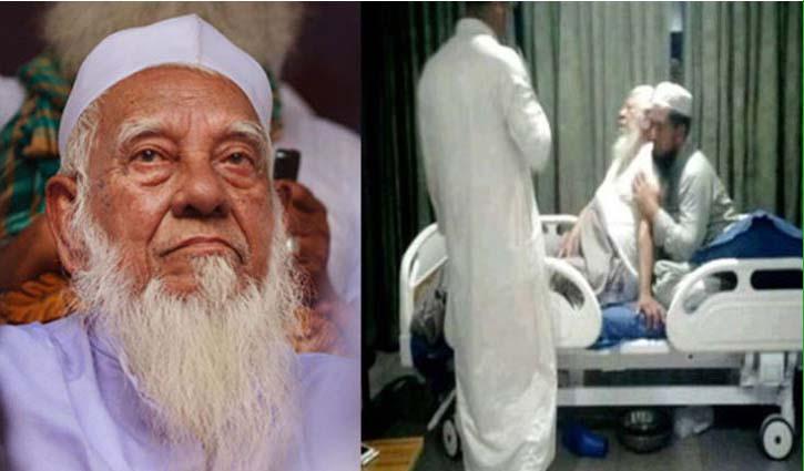 Allama Shafi hospitalised