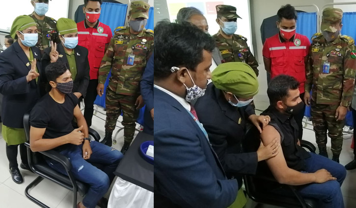 Tamim, Soumya among other cricketers get Covid-19 vaccine