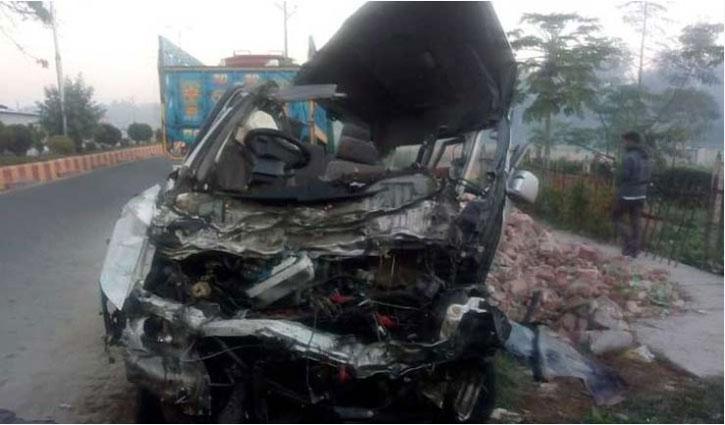 Two killed in Tangail road crash