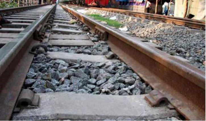 Elderly man crushed under train wheels