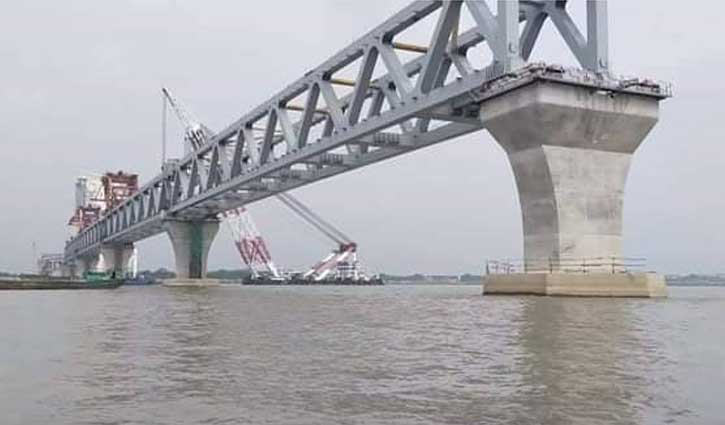 34th span of Padma Bridge to be installed Sunday