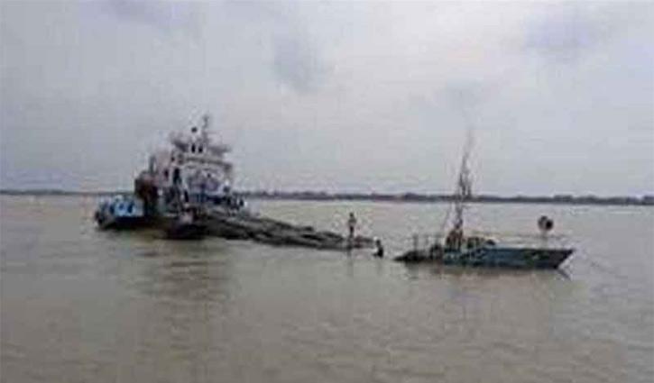 Coal-laden cargo sinks in Pashur Channel of Mongla Port