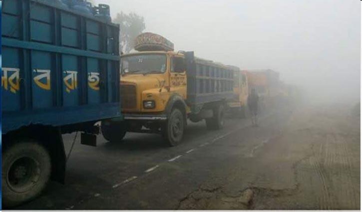 17-km long tailback on Bangabandhu Bridge highway