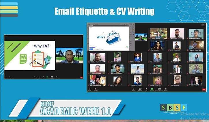 CV writing program held at Daffodil