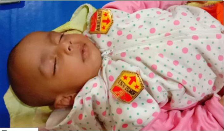 Child recovered from bush in Brahmanbaria