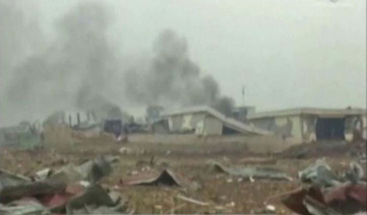 20 killed in Equatorial Guinea explosions