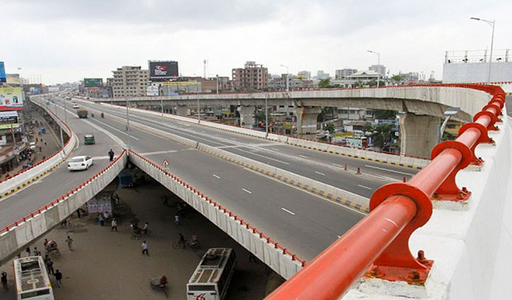 Bus hits motorcycle on Hanif Flyover, leaving 2 killed