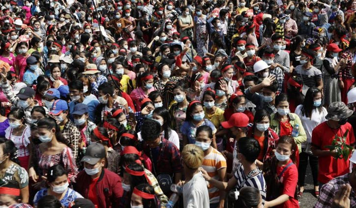 Nationwide strike in Myanmar from Monday