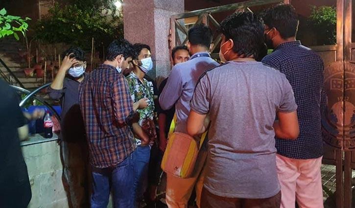 Students confine NSU VC