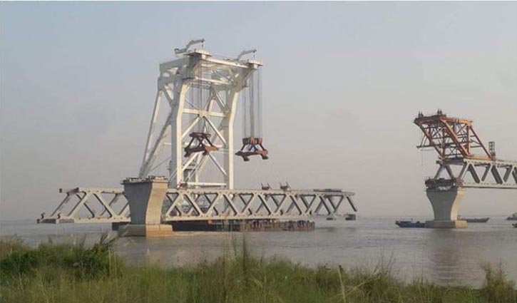 38th span of the Padma Bridge to be installed today