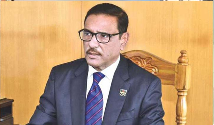 Setting buses on fire as part of BNP's blueprint: Quader