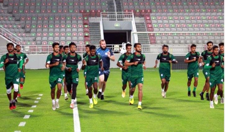 Bangladesh to face mighty Qatar today