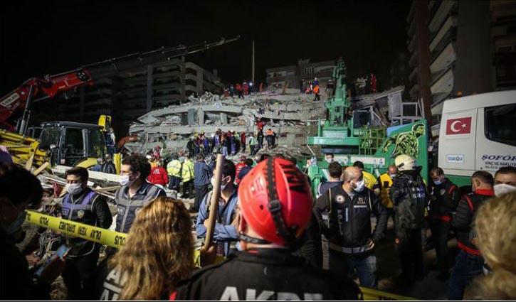 24 killed in Turkey earthquake
