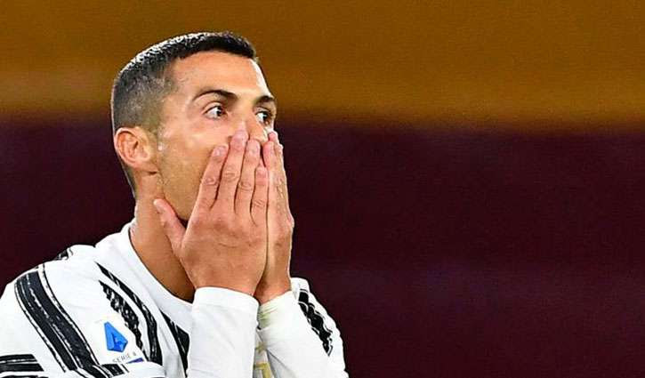 Cristiano Ronaldo tests positive for coronavirus again