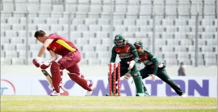 West Indies lose nine wickets