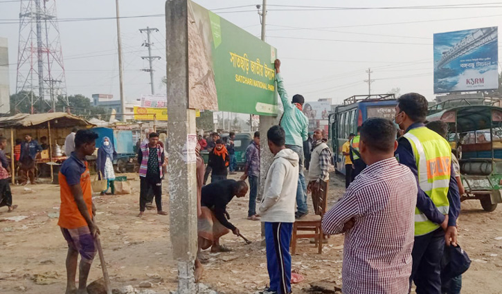 দৃষ্টিনন্দন হচ্ছে শায়েস্তাগঞ্জের 'নতুন ব্রিজ'