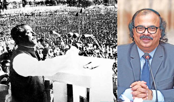 বঙ্গবন্ধুর ৭ মার্চের ভাষণ: বাঙালি জাতির মুখবন্ধ