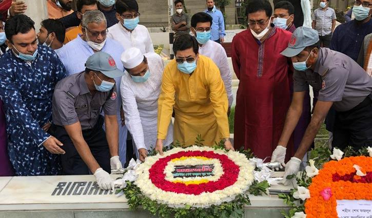 'শেখ মনি মুক্তিযুদ্ধের চেতনায় জাতি গঠনে নিমজ্জিত ছিলেন'
