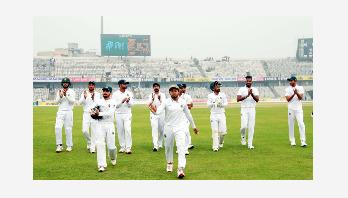 Bangladesh win by an innings and 106 runs
