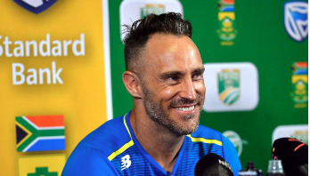 Faf du Plessis to lead World XI