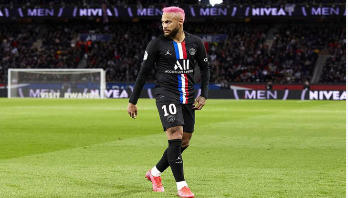 Neymar left out of PSG squad with injury