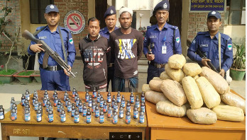 Two Chuadanga drug traders arrested in Jhenaidah