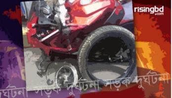 Motorcycle rider killed in Gazipur road crash