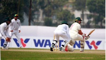 BCB XI rule over Zimbabwe as Shahadat takes 3 wickets
