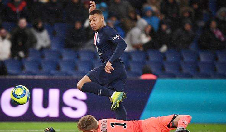 Mbappe double helps PSG win big