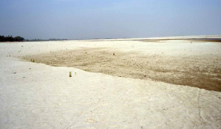 তিস্তায় পানি কম, সেচবঞ্চিত ৪৬ হাজার হেক্টর জমি