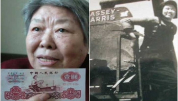 Iconic Chinese female tractor driver dies at 90
